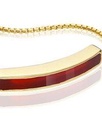 Monica Vinader | Red Baja Bracelet | Lyst