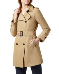 Aquascutum Natural Murray Double Breasted Wadded Trench