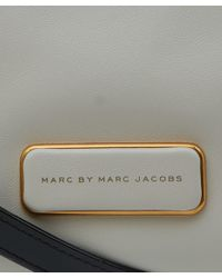 Marc By Marc Jacobs - Black And Grey Ligero Leather Bag - Lyst