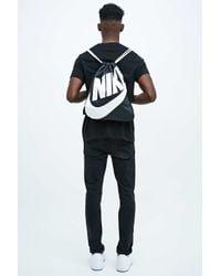 Nike Drawstring Bag In Black for men