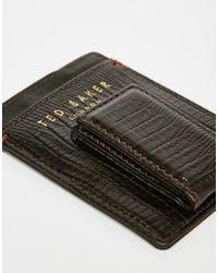 Ted Baker - Black Wallet & Card Holder Gift Set for Men - Lyst