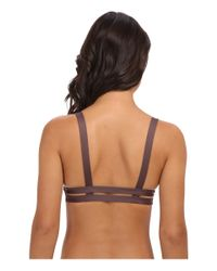 Vitamin A | Brown Neutra Bralette | Lyst