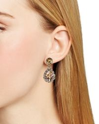 Sorrelli - Metallic Embellished Drop Earrings - Lyst
