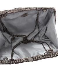 Clara Kasavina - Gray Rosalie Diamond Handbag - Lyst