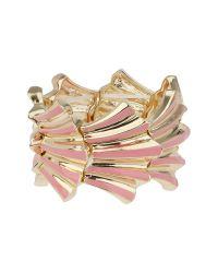 Mikey | Multicolor Elastic Shell Design Bracelet | Lyst