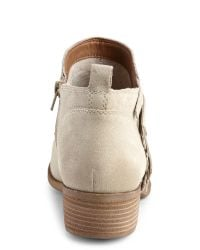 Lucky Brand - Natural Incense Bora Fringe Boots - Lyst
