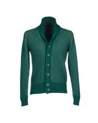 Siviglia | Green Cardigan for Men | Lyst