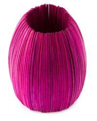 Monies | Pink Wooden Discs Oversized Cuff | Lyst