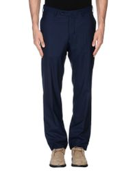 Incotex - Blue Casual Trouser for Men - Lyst