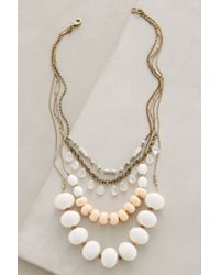 Anthropologie | Metallic Layered Hemisphere Necklace | Lyst