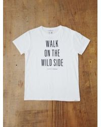 Thinking Mu - White Walk On The Wild Side Tee for Men - Lyst