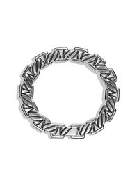 David Yurman - Metallic Modern Cable Empire Link Bracelet for Men - Lyst