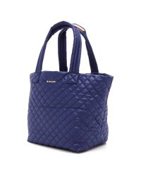 MZ Wallace - Blue Medium Metro Tote - Midnight - Lyst