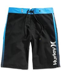 Hurley | Black Flight Board Shorts for Men | Lyst