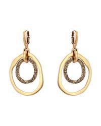 Oscar de la Renta | Green Circle P Earrings | Lyst