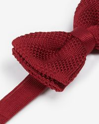 Ted Baker | Red Nitbow Knitted Bow Tie for Men | Lyst