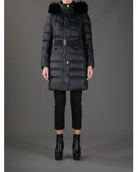 Burberry - Black Abingerf Padded Coat - Lyst