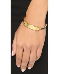Marc By Marc Jacobs - Metallic Standard Supply Hinge Cuff Bracelet - Garnet - Lyst