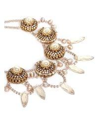 Erickson Beamon | Metallic 'stratosphere' Pearl Crystal Necklace | Lyst