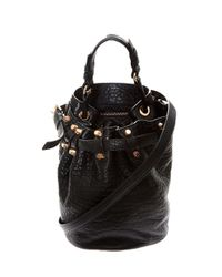 Alexander Wang | Black Small 'diego' Bucket Shoulde Bag | Lyst