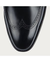 Bally Scanlan Men's Leather Lace Up Shoe In Black for men