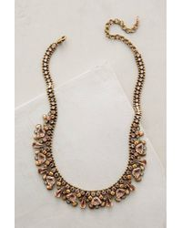 Sorrelli | Orange Sparkled Peche Bib Necklace | Lyst