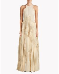 DSquared² | Natural Phoebe Couture Dress | Lyst