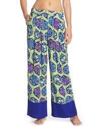 Bollydoll Blue 'moon' Pajama Pants