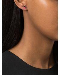 Marc By Marc Jacobs | Pink Padlock Stud Earrings | Lyst