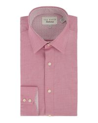 Ted Baker | Pink Licatch Polka Dot Slim Fit Formal Shirt for Men | Lyst