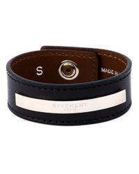 Givenchy | Black Paris Bracelet | Lyst