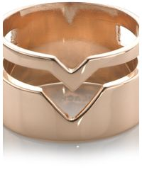 Maria Black | Pink Rose Gold Fooled Heart Ring | Lyst