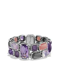 David Yurman | Metallic Mosaic Bracelet | Lyst