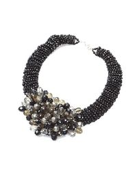 Nakamol | Multicolor Star Cluster Necklace-black Mix | Lyst