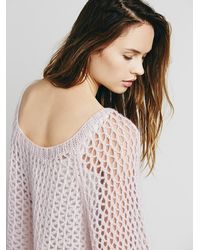 Free People Natural Intimately Womens Waiting For A Girl Like You Cashmere Sweater
