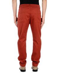 Jean Paul Gaultier | Orange Casual Trouser for Men | Lyst
