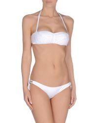 Agogoa   White Bikini   Lyst