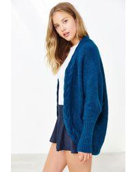 Glamorous | Blue Cozy Braid Cardigan | Lyst