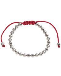 John Lewis | Metallic Polished Ball Friendship Bracelet | Lyst