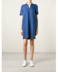 YMC Blue Sailor Collar Dress