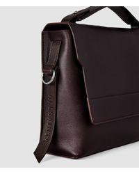 AllSaints Purple Paradise Shoulder Bag