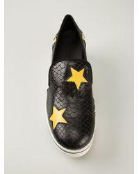 Stella McCartney | Black 'Binx' Loafers | Lyst