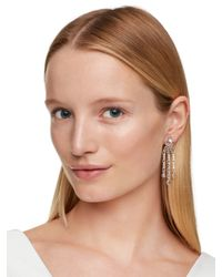 Kate Spade | White Catching Light Drama Earrings | Lyst