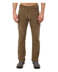 Patagonia | Brown Straight Fit Cords - Regular for Men | Lyst