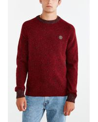 Stussy - Red Donegal Sweater for Men - Lyst