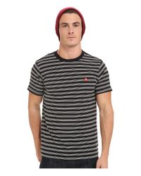 Obey | Black Ludgate Tee for Men | Lyst