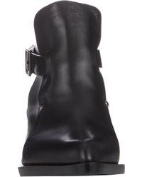 Jil Sander - Black Extended-Sole Ankle Boots - Lyst