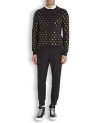 Markus Lupfer - Black Skull Print Cotton Sweatshirt for Men - Lyst