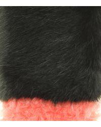 Shrimps | Green Martha Faux Fur Scarf | Lyst