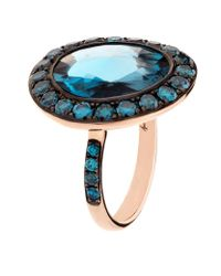 Annoushka | Blue Dusty Diamonds Topaz Ring | Lyst